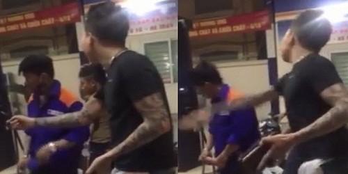 Nhân viên bị tát ù tai, chủ cây xăng Hà Nội nói không gian lận