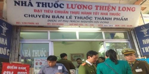 Hà Nội: Phát hiện 3 cơ sở bán thuốc tân dược hết hạn sử dụng