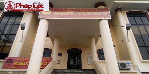 Trụ sở Đội Thanh tra GTVT Thanh Trì không làm việc giờ hành chính
