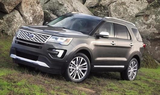 Dòng xe Ford Explorer cũng bị triệu hồi