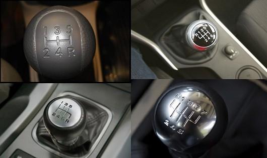 Ký hiệu cơ bản trên cần số ô tô cho tài xế mới