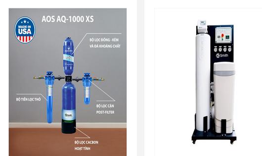 A.O.Smith Việt Nam thông tin về nguồn gốc máy lọc nước