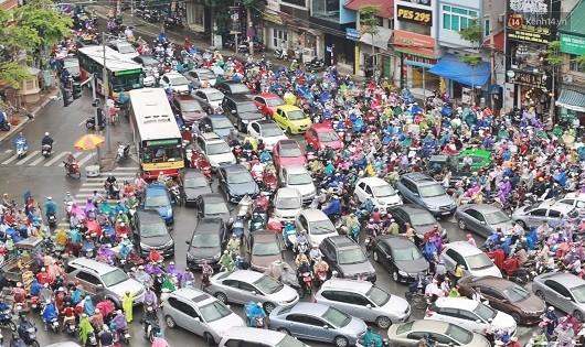 Hà Nội rồi sẽ lại tắc đường