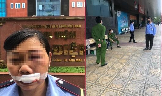 Clip: Nam thanh niên ném điện thoại vào mặt nữ bảo vệ gây bức xúc