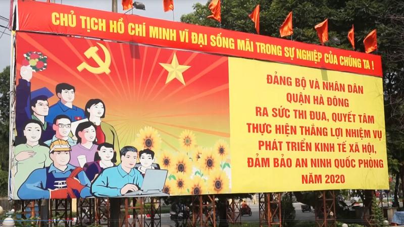 Hà Nội trang hoàng cờ hoa chào mừng Quốc khánh 2/9