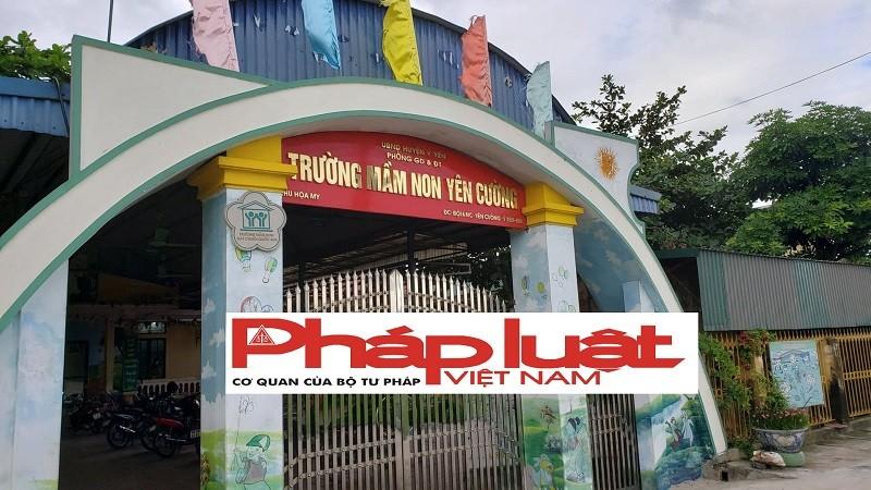 Nam Định: Hàng loạt sai phạm trong quá trình đấu thầu trường mầm non xã Yên Cường?