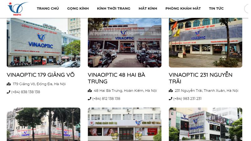 Cục Quản lý Thị trường Hà Nội đồng loạt kiểm tra Công ty Kính Mắt Việt Nam phát hiện vi phạm