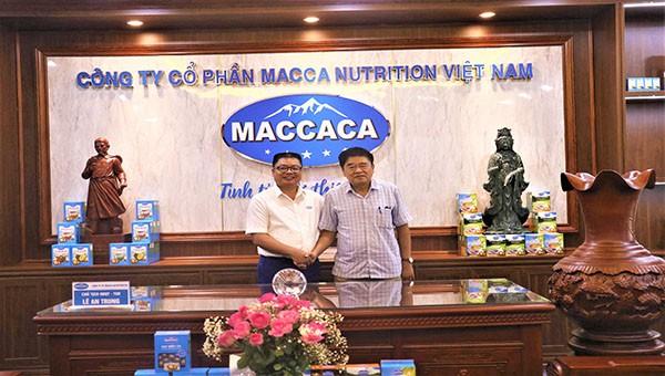 Tổng hội Nông nghiệp Việt Nam thăm và làm việc tại  Công ty Macca Nutrition