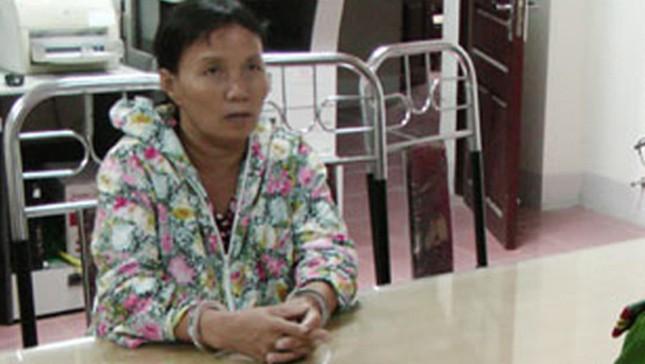 Bị cáo Nguyễn Thị Lan tại cơ quan điều tra