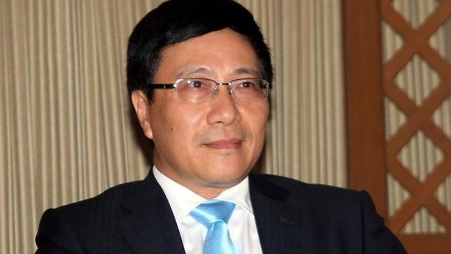 Tân Phó Thủ tướng Phạm Bình Minh chia sẻ sau khi nhận cương vị mới