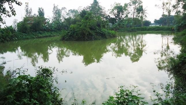 """""""Giếng khổng lồ"""" tại làng Thanh Phước"""