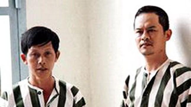 Bị can Nguyễn Tuấn Anh và Nguyễn Đức Lễ tại Trại tạm giam Công an tỉnh Khánh Hòa