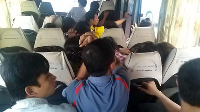 Đoàn thanh tra Bộ GTVT đã phát hiện hàng loạt sai phạm của xe khách gường nằm liên quan đến việc thay đổi thiết kế trong vận chuyển khách.