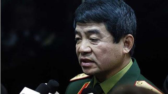 Trung tướng Võ Văn Tuấn, Phó tổng Tham mưu trưởng Quân đội Nhân dân Việt Nam.