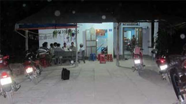 Cảnh nhà nghi phạm An ở Bình Thuận