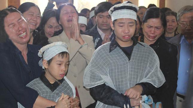 Nỗi đau không nguôi của gia đình nạn nhân
