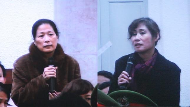 Hai người đàn bà phấp phỏng trước phiên phúc thẩm Vinalines