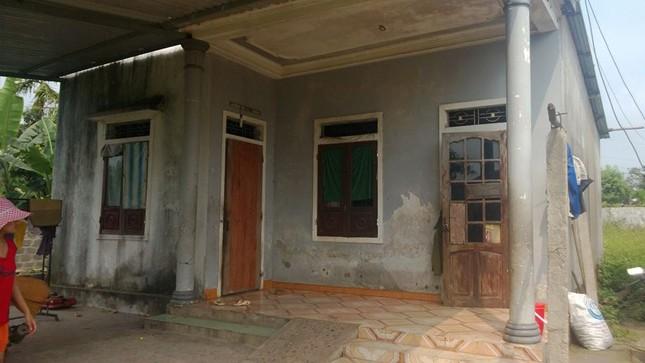 Ngôi nhà là hiện trường xảy ra vụ án đau lòng