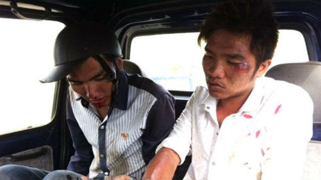 Công an rượt đuổi 20 km bắt tên trộm ăn cắp chồng ghế nhựa