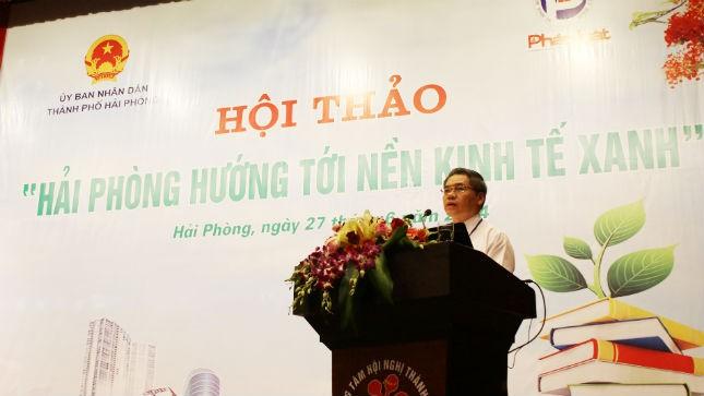 ông Đinh Trung Tụng, Bí thư Đảng ủy, Thứ trưởng thường trực Bộ Tư pháp phát biểu tại Hội thảo