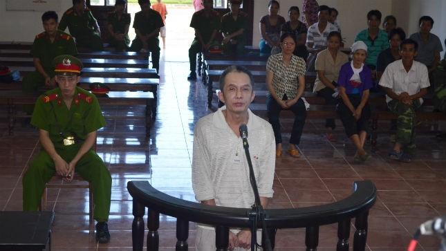 Bị cáo  Bùi Văn Mạnh.