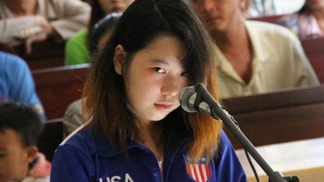 Bị cáo Phan Thị Kim Xuyến