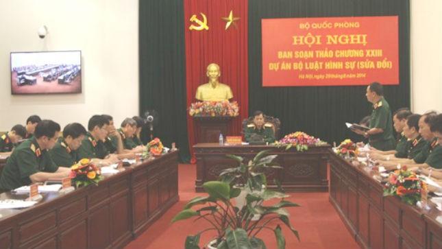 Các đại biểu phát biểu góp ý vào dự thảo BLHS sửa đổi.