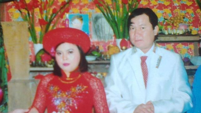 Vợ chồng Tài lúc cưới