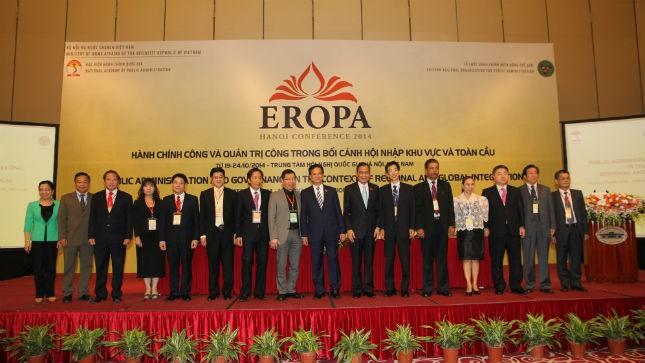 Thủ tướng CP Nguyễn Tấn Dũng: EROPA là động lực thúc đẩy phát triển kinh tế - văn hóa - xã hội.