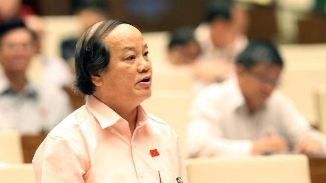 ĐB Huỳnh Nghĩa phát biểu trước QH