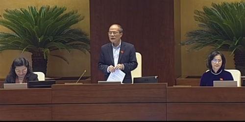 Chủ tịch QH: Cử tri hài lòng với Bộ trưởng Đinh La Thăng
