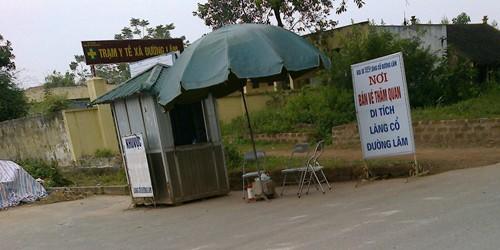Làng cổ Đường Lâm - con cháu muốn về nhà, phải… mua vé?