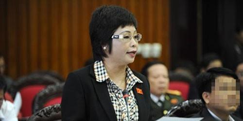 Đình chỉ tư cách Đại biểu Quốc hội của bà Châu Thị Thu Nga