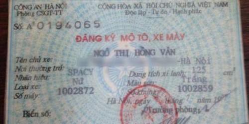 Hà Nội: Xử phạt vi phạm giao thông, phát hiện xe đục lại số khung, số máy