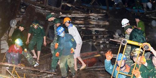 Ngừng tìm kiếm nạn nhân vụ sập giàn giáo Formosa