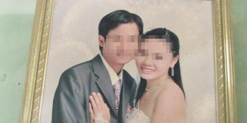 Ảnh cưới của vợ chồng Cường - Mai