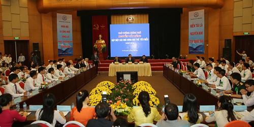 Thủ tướng Chính phủ gặp gỡ các nhà khoa học trẻ tiêu biểu