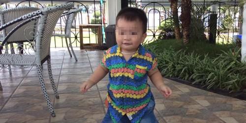 Cháu Nguyễn Lê Hải Phong lúc còn khỏe mạnh.