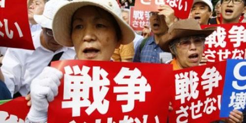 Dự luật về binh sỹ gây tranh cãi ở Nhật Bản