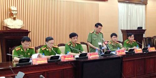 Công an Hà Nội họp báo thông tin vụ 2 luật sư bị hành hung