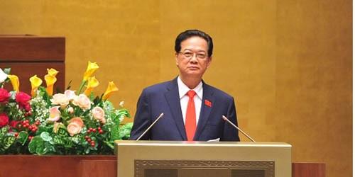 Thủ tướng Chính phủ Nguyễn Tấn Dũng trả lời chất vấn QH