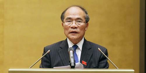 Chủ tịch QH trúng cử Chủ tịch Hội đồng Bầu cử Quốc gia