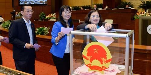 Công bố danh sách Hội đồng bầu cử Quốc gia