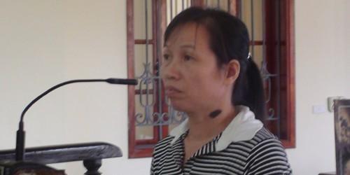 Bị cáo Lô Thị Thanh.