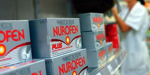 Thuốc giảm đau Nurofen bị đề nghị thu hồi