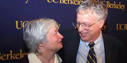 Bà Yellen và chồng - nhà kinh tế học George Akerlof