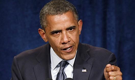 Tổng thống Mỹ Obama. Ảnh: AP