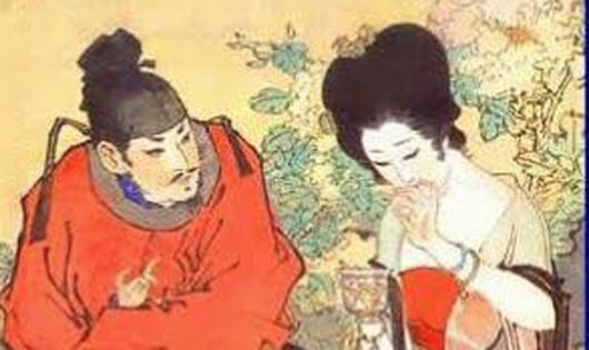 Dương Quý Phi trong tranh cổ