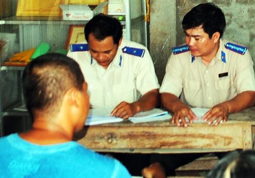 Tòa án nhân dân tỉnh Cà Mau công khai người bị tù oan hơn 1.000 ngày. Ảnh: Phúc Hưng