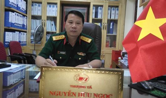 Phó Tư lệnh/Phó Tổng Giám đốc Nguyễn Hữu Ngọc.